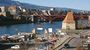 Slovenian town of Maribor
