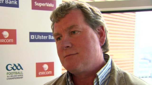 Terry Hyland was appointed Cavan boss last month after Val Andrews' resignation