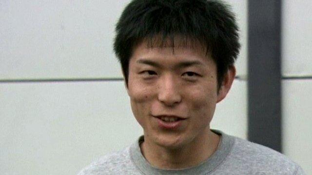 Harley owner Ikuo Yokoyama