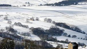 Tow Law, County Durham, on 4 April 2012