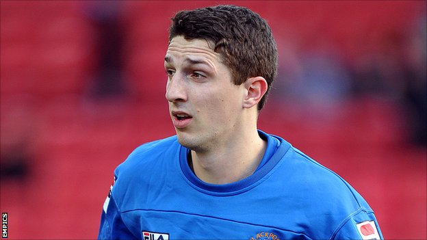 Blackpool defender Craig Cathcart