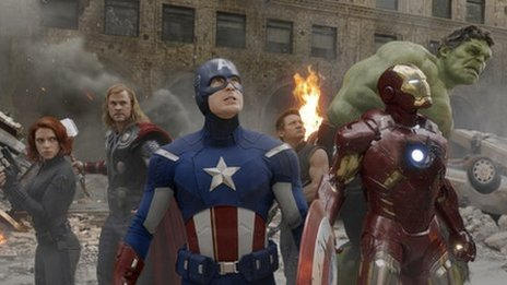 The cast of Marvel Avengers Assemble