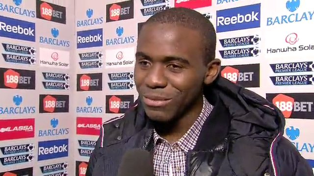 Bolton midfielder Fabrice Muamba