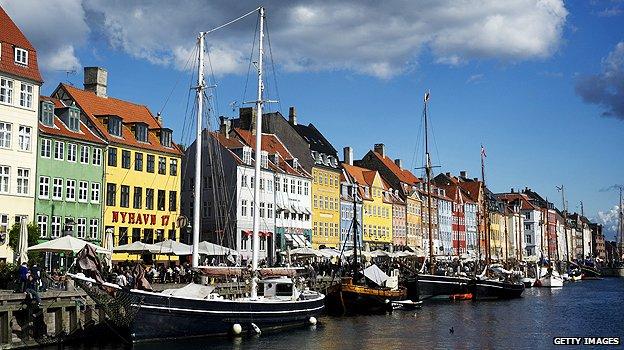 Copenhagen sea front