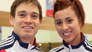 Aaron Cook and Bianca Walkden