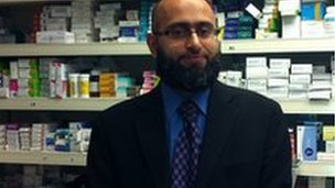 Pharmacist Farhad Hodabaksh