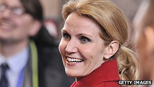 Danish premier Helle Thorning-Schmidt