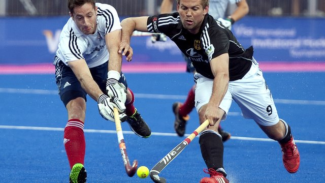 GB men's hockey lose 3-1 to Germany