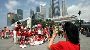 Singapore children 8 August, 2007