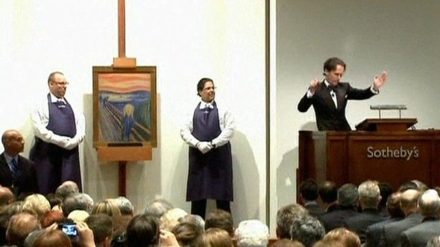 Sotheby's auctioneer