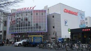 The Cinemaxx in Hanover