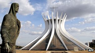The National Cathedral in Brasilia