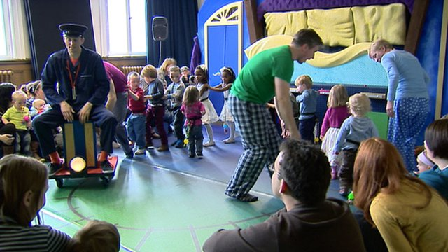Scottish Opera production for toddlers