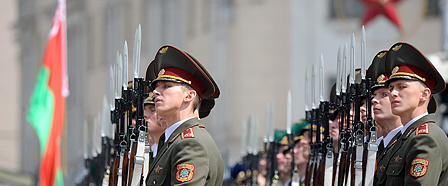 Belarus military parade