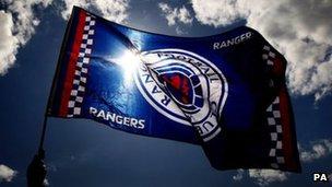 Rangers flag