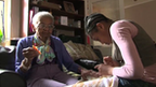 Rael and her great-grandmother who has Alzheimer's