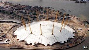 The O2 arena