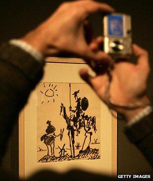 Picasso's El Quijote