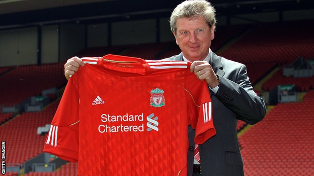 Former Liverpool manager Roy Hodgson