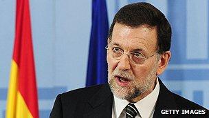 Spanish premier Mariano Rajoy