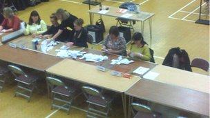 First ballot boxes arrive at Colchester count