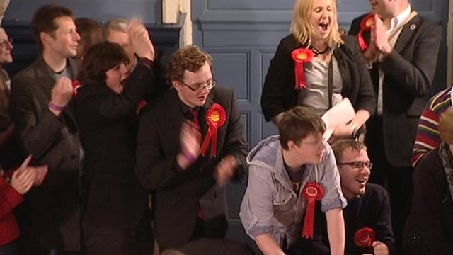 Labour celebrate gains in Oxford