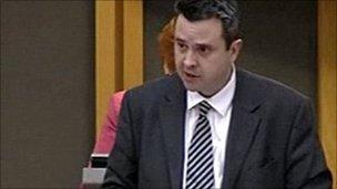 Labour's Huw Lewis