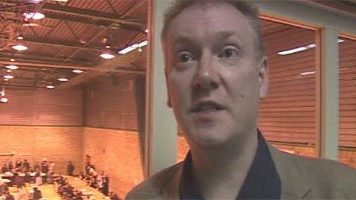 Lib Dem John Dixon, who lost in Adamsdown, Cardiff