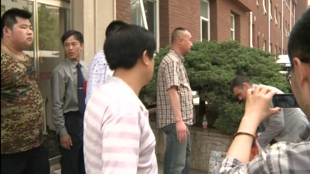 US officials were prevented from visiting Mr Chen
