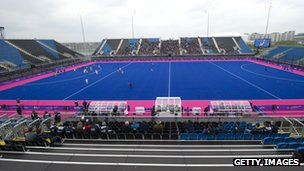 Hockey&#039;s Riverbank Arena at Olympic Park