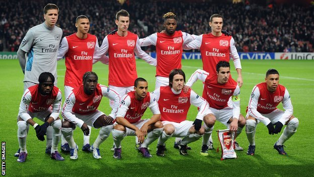 The Arsenal team