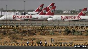 Kingfisher planes