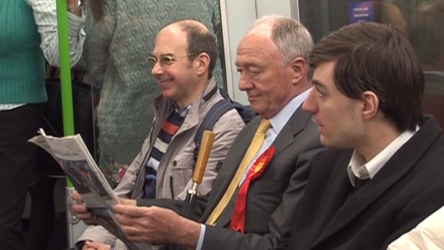 Labour mayoral candidate Ken Livingstone on the campaign trail