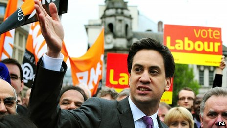 Ed Miliband in Birmingham