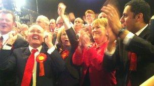 Labour celebrate