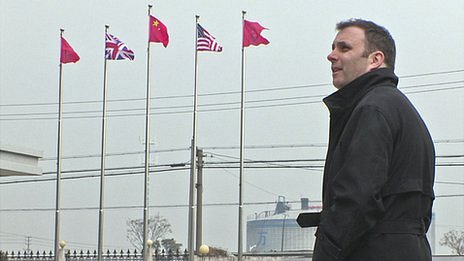 Tony Caldeira in China