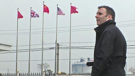 Tony Caldeira in China