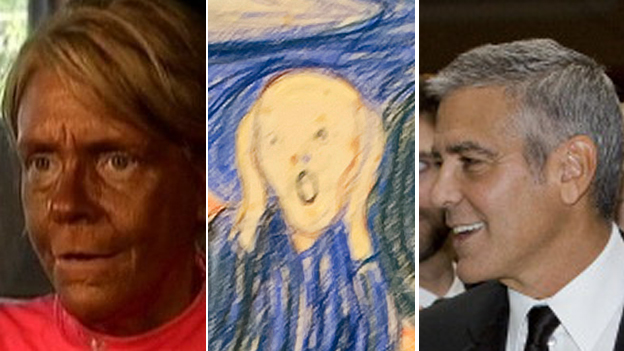 Patricia Krentcil, Munch's The Scream, George Clooney