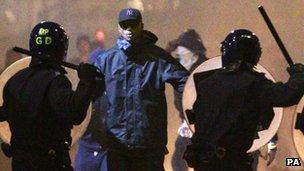 Man faces police