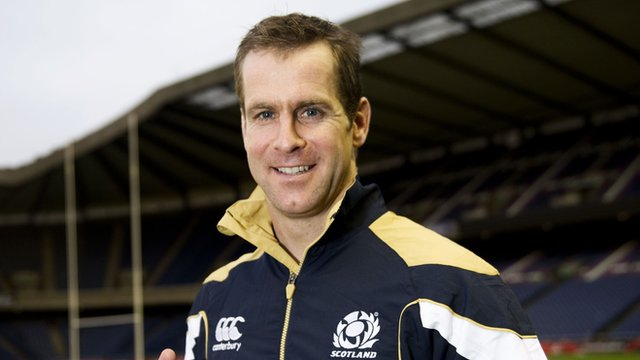 Scotland full-back Chris Paterson