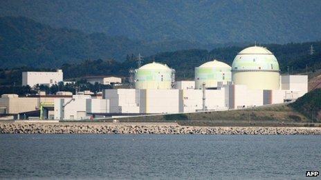 Tomari nuclear plant, Hokkaido (file photo - Sept 2011)