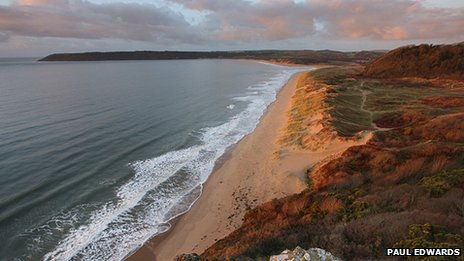 Oxwich Bay by Paul Edwards
