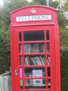Bucklebury telephone box