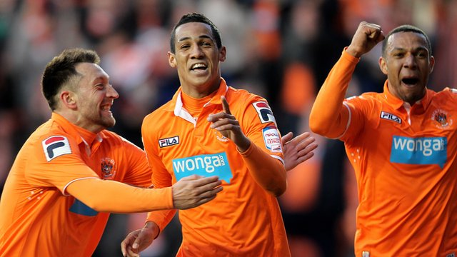 Blackpool's Thomas Ince