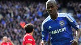 Chelsea midfielder Ramires (c) celebrates his goal in the FA Cup final