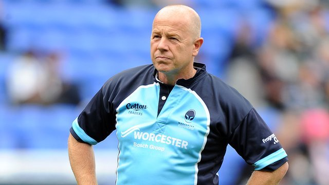 Worcester Warriors head coach Richard Hill