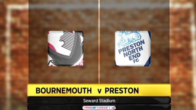 Bournemouth 1-0 Preston