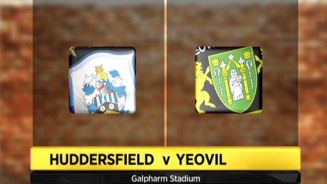 Huddersfield 2-0 Yeovil