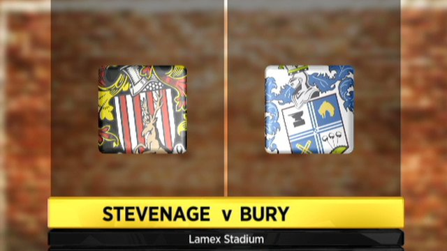 Stevenage 3-0 Bury