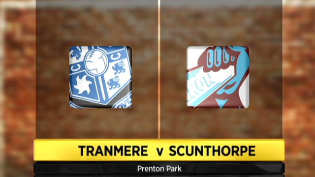 Tranmere 1-1 Scunthorpe